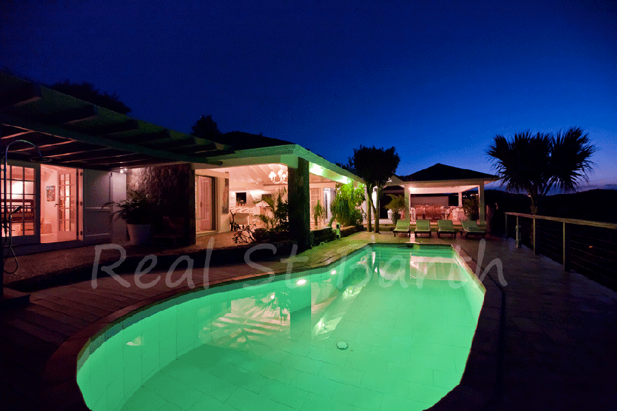 Villa Sunrise, luxury villa for rent in St Barts French West Indies